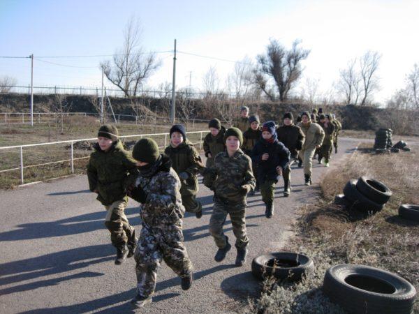 Зимние тренировки «Донской казачьей заставы»